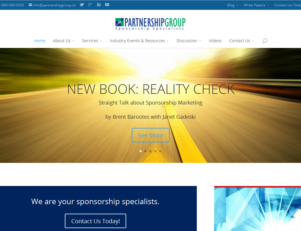 Partnership Group – Sponsorship Specialists